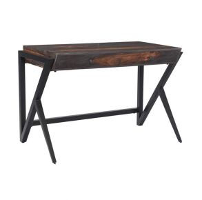 Two Drawer Writing Desk Front View