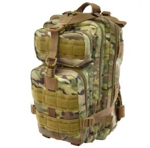 Flying Circle Presidio Tactical Assault Pack - MultiCam Front of Pack View