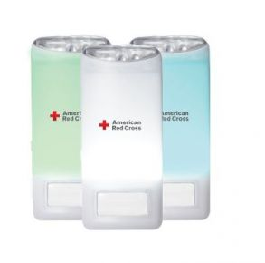 Eton American Red Cross Blackout Buddy Color Light Front of Light View
