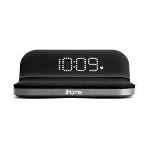 iHome iW18 Digital Alarm Clock with Qi Wireless Charging