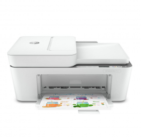 HP DeskJet Plus 4155 All-in-One Printer Front View