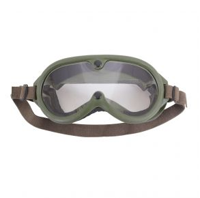 Rothco G.I. Type Sun, Wind & Dust Goggles - Olive Drab Front View