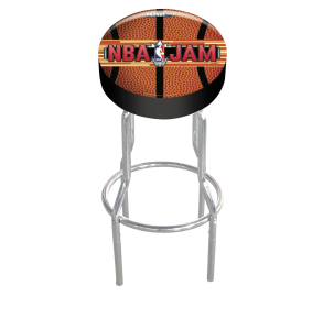 Arcade1Up NBA Jam Adjustable Stool Tall View