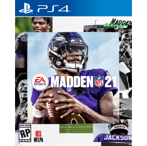 Sony Playstation 4 Madden NFL 21 Game Cover View