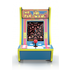 Arcade1Up MS. PAC-MAN Counter-cade Front View
