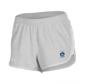 Coast Guard Academy Under Armour Womens Gameday Twill Short Front of Short View