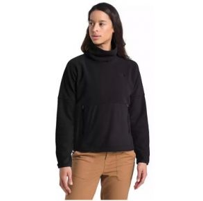 The North Face Womens TKA Glacier Funnel-Neck Pullover Sweatshirt Front View