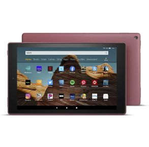 Amazon Fire HD 10 Tablet - Plum Front View