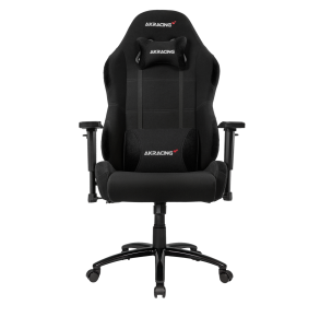 AKRacing Core Series EX-Wide Gaming Chair - Black Front View