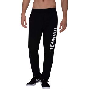 Hurley Mens One & Only Fleece Pants Front View