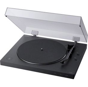 Sony Turntable Open Cover View