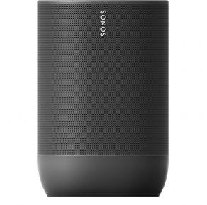 Sonos Move Portable Smart Speaker - Black Front View