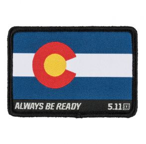 5.11 Colorado Flag Patch Front View