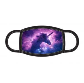 ADTN Face Mask - Youth - Space Unicorn Front View