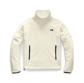 The North Face Womens TKA Glacier Funnel-Neck Pullover Sweater Front VIew