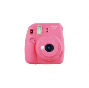 Fujifilm Instax Mini 9 Camera - Flamingo Pink Front View