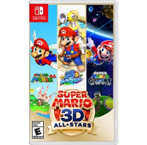 Nintendo Switch Super Mario 3D All-Stars Front View