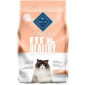 Blue Buffalo True Solutions Fit & Healthy Weight Control Adult Dry Cat Food - 3.5 lbs Front View