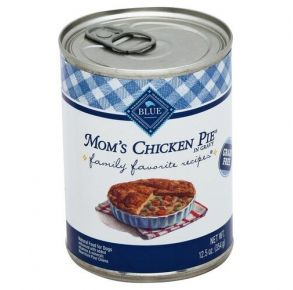 Blue Buffalo Family Favorite Mom's Chicken Pie Grain-Free Canned Dog Food - 12.5oz. Front of Can View