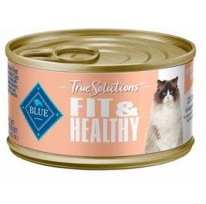Blue Buffalo True Solutions Fit & Healthy Wet Cat Food - 3oz. Front View