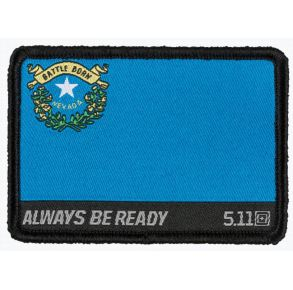 5.11 Nevada Flag Patch Front View
