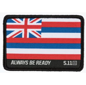 5.11 Hawaii State Flag Patch Front View