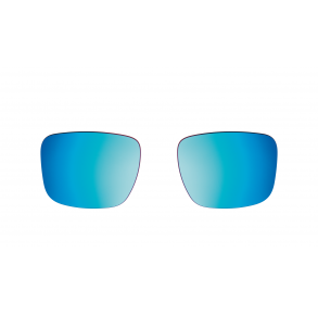 Bose Frames Tenor Lenses - Mirrored Blue Front View