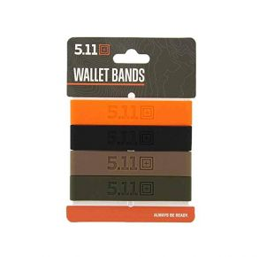 5.11 4 Pack Wallet Bands Front View