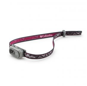 Columbia Mini Headlamp - 25 Lumens - Pink Front View