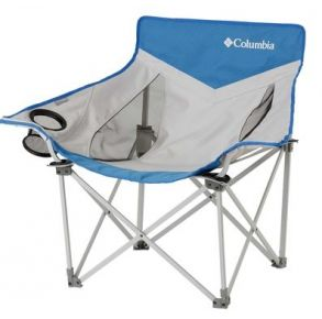 Columbia Compact Chair with Mesh Front View