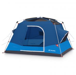 Columbia Mammoth Creek 6 Person FRP Tent Front without Cover View