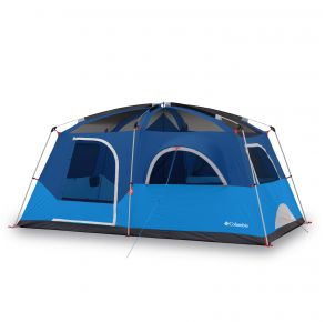 Columbia Mammoth Creek 8 Person FRP Tent Front View
