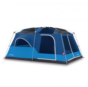Columbia Mammoth Creek 10 Person FRP Tent Front View