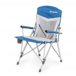 Columbia Hard Arm Chair with Mesh Front View