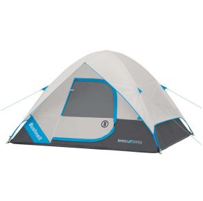 Bushnell 4 Person FRP Dome Tent Front View