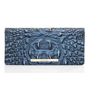 Brahmin Ady Melbourne Wallet - Maritime Front of Wallet View