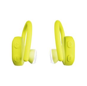 Skullcandy Push Ultra True Wireless Sport Earbuds - Energized Yellow Front View