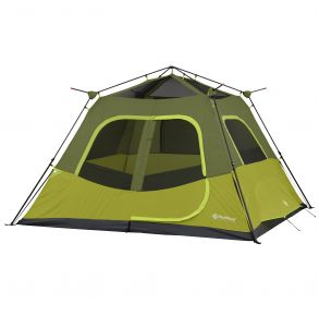 Outdoor Products 6 Person Instant Tent with Extended Eaves Exterior View