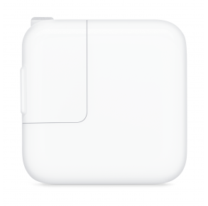 Apple 12W USB Power Adapter Front View