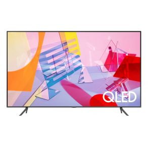 """Samsung 43"""" Class Q60T QLED 4K UHD HDR Smart TV (2020) Front View"""