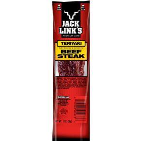 Jack Link's Jerky - Teriyaki Beef Steak Stick Front View