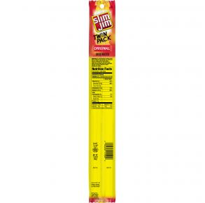 Slim Jim - Twin Pack - Original Smoked Snack Stick Front View