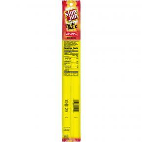 Slim Jim - Twin Pack - Original Smoked Snack Stick Front View