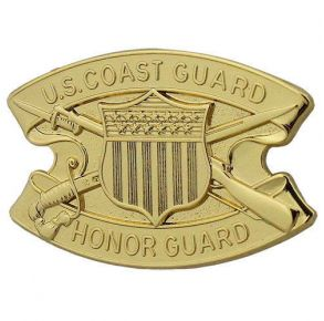 Coast Guard Badge: Honor Guard