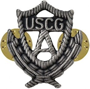 Coast Guard Auxiliary Badge: Past Officer- Regulation Size