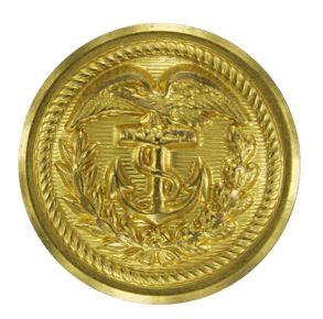 Coast Guard Button: 35 Ligne Gold for Jacket