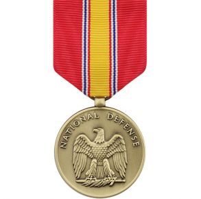 Full Size Medal: National Defense