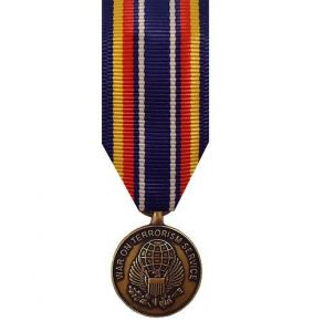 Miniature Medal: Global War On Terrorism Service