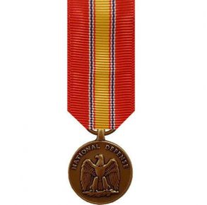 Miniature Medal: National Defense
