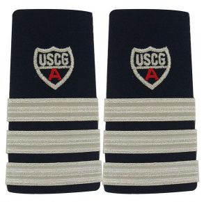 Coast Guard Auxiliary Shoulder Board: DVC and DDO